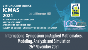 International Symposium on Applied Mathematics, Modeling, Analysis and Simulations